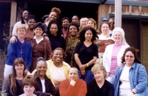 Women who attended the first conference in1999 - Astoria, Oregon